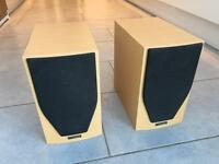 Mission M71 bookshelf speakers