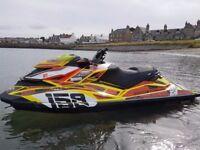 Seadoo Sea Doo RXP 260 RS Jet Ski Bushell Ltd edtion colours
