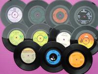 11 Collectable 1970s Original 45rpm Vinyl Records