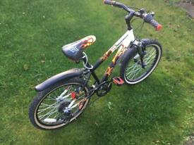 Raleigh Hot Rod Bike. Age 6-9 Approx