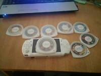 Sony psp 1000 with 7 games