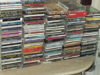 170 CDS WITH 22 CASSETTES - ROCK RAP POP ETC