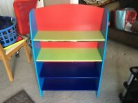 childs bookcase kids play or bedroom