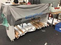 Wide format laminator easy mount