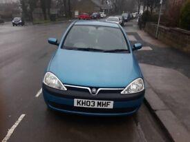 Vauxhall corsa 1.2 petrol 5 doors