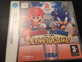 Mario and Sonic at the Olympic Games Nintendo DS game