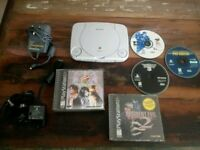 PS1 Mini (NTSC) with Games.