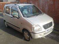 Suzuki Wagon R 1.3 very low millage 41K long mot £699
