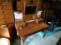 Victorian, Pine Dressing Table