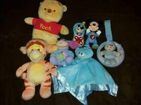 Baby boys toy bundle