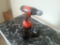 Black & Decker Electric Driver / Drill With Spare Battery
