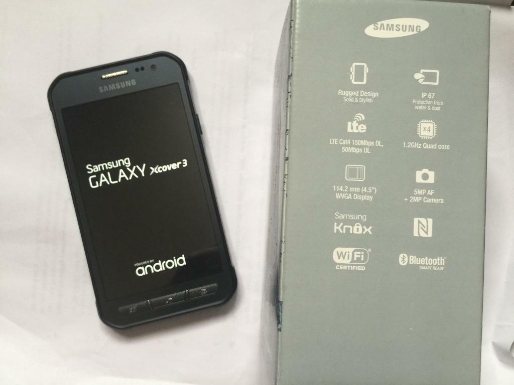 Samsung Galaxy Xcover 3 brand new in boxin St Albans, HertfordshireGumtree - Samsung Galaxy Xcover 3 Rugged Smartphone Grey (SIM Free/Unlocked)It is designed to survive adverse temperature, humidity, rain and high altitude conditions.Moreover, it is also dust and water proof and is shock resistant. Your Samsung Galaxy Xcover3...