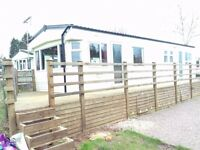 NOW REDUCED £14250 !!!!3 BED HOLIDAY HOME WITH BREATH TAKING VIEWS D/G & E/H
