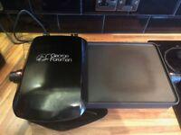George Foreman 10-Portion Grill and Griddle 18603 (50/60 Hz) - Black