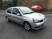 1.1 renault clio 2007 year petrol manual 112000 mile history mot 2/2/18 hpi clear 3 months warranty