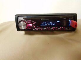 CAR HEAD UNIT PIONEER MP3 MEDIA PLAYER WITH DAB USB AUX 4x 50 AMPLIFIER AMP STEREO RADIO DIGITAL