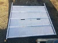 Ifor williams livestock trailer centre cattle dividing gate sizes in pictures