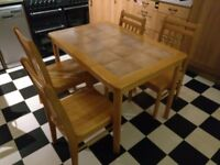 Tiled kitchen table for sale