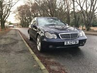 Mercedes Benz C CLASS long MOT and low mileage