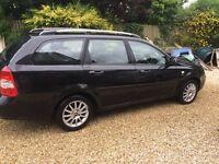 Black 2007 Chevrolet lacetti 1.6l