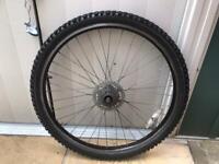 Bike back wheel 26 inch