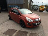 2012 VAUXHALL CORSA 1.3 CDTI LIMITED EDITION,SAT NAV ONLY 1 PREVIOUS OWNER FROM NEW,57000 WITH F/S/H