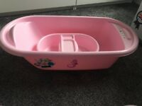 Mothercare pink baby bath
