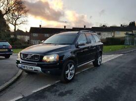 2010 Volvo XC90 2.4 D5 R-Design SE AWD 5dr JUST SERVICED/ SATNAV/7 SEATS/CAMBELT/1 OWNER/BLACK