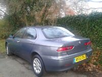 ALFA ROMEO 156 JTS Turismo , 4 DOOR Coupe , Long Test