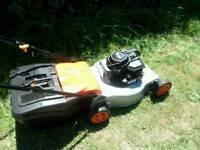 FLYMO Quicksilver petrol mower