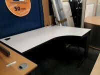 Grey Office Desk - Delivery Available