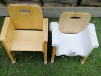 Seating chairs for toddlers