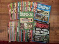 Fishing Magazines- New Fisherman's Handbook- 52 copies