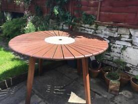 Garden table SOLD