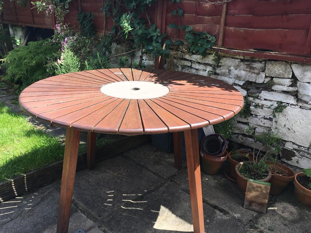 Garden table sold victoria park