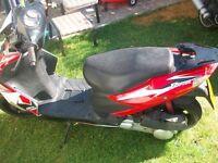 Motorbike Raptor 125 cc 2011