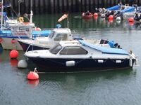 Crescent boat, Classic Cabin Cruiser, GM Chevrolet 5 Litre V8 engine. Speed boat.