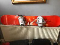 Salomon Snowboard and Bindings