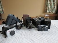 6 Vintage Cameras to sell as a group