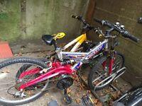 "Bicycle 22"" bike unisex"