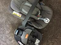 Cybex Cloud Q plus car seat and base