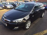 2011/11 VAUXHALL ASTRA 1.7 CDTi 16v SRi DIESEL ESTATE, NEWER SHAPE, STUNNING LOOKS & HIGH SPEC