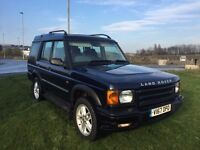 2000 LAND ROVER DISCOVERY 4.0 V8 GS AUTOMATIC 7 SEATER 10 SERVICE STAMPS DRIVES LIKE NEW FAULTLESS
