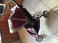 Baby Jogger City Mini - Purple and Grey
