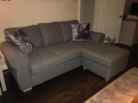 Next Sofa. 6 weeks old. Immaculate