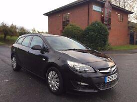 Vauxhall Astra 1.7 CDTi ecoFLEX 16v Exclusiv 5dr (start/stop , Estate.2013.full servuce history