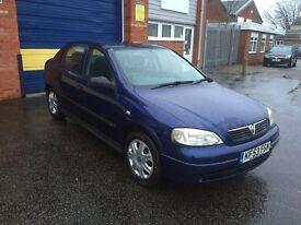 2003 Vauxhall Astra 1.6 5 door 12 months mot