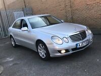 2007 MERCEDES BENZ E220 2.2 CDI EXECUTIVE DIESEL AUTOMATIC SALOON GREAT DRIVE LUXURY NOT 5 3 SERIES