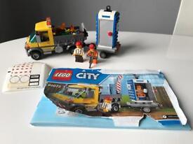 Lego City Service Truck & Portaloo Set 60073