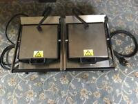 Lincat Lynx 400 Electric double contact grill Model LRG2